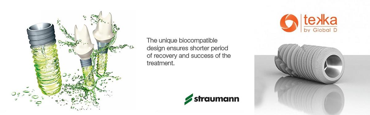 Sử dụng hệ thống Implant uy tín thế giới.